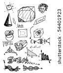 hand draw math symbols