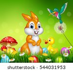 Cute Animals  Easter Eggs On...