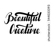 hand written retro lettering... | Shutterstock .eps vector #544033393