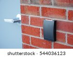 Small photo of door entrance card reader