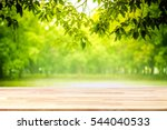 abstract natural wood table... | Shutterstock . vector #544040533