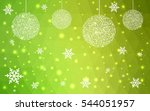 Light Green Christmas Postcard...