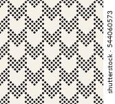 vector seamless pattern. modern ... | Shutterstock .eps vector #544060573