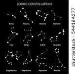 vector. constellations of the... | Shutterstock .eps vector #544164277