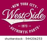 vector lettering illustration   ... | Shutterstock .eps vector #544206253