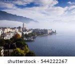 switzerland montreux and leman...   Shutterstock . vector #544222267