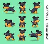 cartoon character german... | Shutterstock .eps vector #544233193