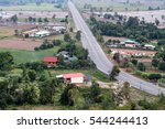 view from above of residential... | Shutterstock . vector #544244413