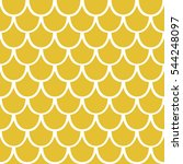 Seamless Pattern Of Yellow...