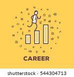 vector business illustration of ...   Shutterstock .eps vector #544304713