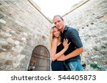 couple walking in the city of... | Shutterstock . vector #544405873