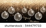 christmas background. new year... | Shutterstock . vector #544479733