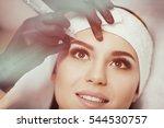 permanent makeup. permanent... | Shutterstock . vector #544530757