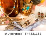 a beautiful natural jewelry... | Shutterstock . vector #544531153