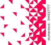 background of geometric shapes. ... | Shutterstock .eps vector #544537777