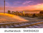Sunset Over Fort Worth  Texas