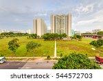 aerial view exterior public... | Shutterstock . vector #544572703