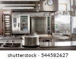 real industrial kitchen pots in ...   Shutterstock . vector #544582627