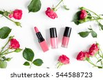 berry color decorative... | Shutterstock . vector #544588723