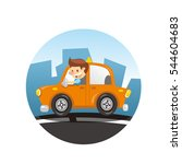 taxi | Shutterstock .eps vector #544604683