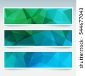 vector banners set with... | Shutterstock .eps vector #544677043