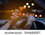 don't drink and drive concept ... | Shutterstock . vector #544683007