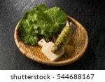 wasabi japanese horseradish | Shutterstock . vector #544688167