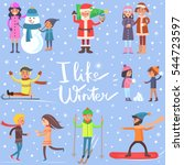 I Like Winter Poster With...