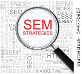 search engine marketing... | Shutterstock .eps vector #544770607