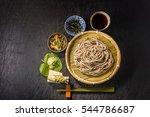 soba  noodles  set of the... | Shutterstock . vector #544786687