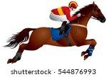 Horse Race Derby Jump ...