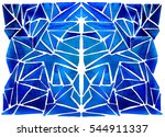 abstract background   tile ... | Shutterstock . vector #544911337