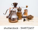 coffee drip | Shutterstock . vector #544972657