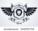 illustration of old style... | Shutterstock . vector #544992733