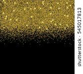 vector gold glitter confetti... | Shutterstock .eps vector #545017813