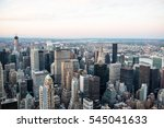 usa  new york  manhattan   june ... | Shutterstock . vector #545041633