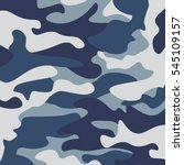 camouflage pattern background.... | Shutterstock .eps vector #545109157