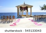 Wedding Arch Decorated On The...