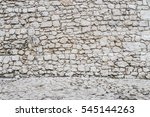 old stone wall background....   Shutterstock . vector #545144263
