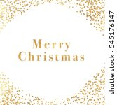 merry christmas background.... | Shutterstock . vector #545176147