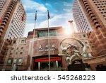 singapore   february  26  2015  ... | Shutterstock . vector #545268223