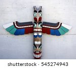 Totem Pole Sculpture Art