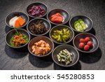 side dishes  rice japanese food | Shutterstock . vector #545280853