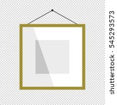 blank picture frame template... | Shutterstock .eps vector #545293573