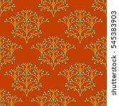 vector seamless pattern of... | Shutterstock .eps vector #545383903