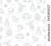 vector pattern of different... | Shutterstock .eps vector #545393527