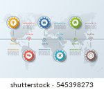timeline business infographic... | Shutterstock .eps vector #545398273