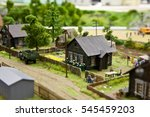 Scale Model Of The Village...