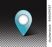geo tag infographic element.... | Shutterstock .eps vector #545459557