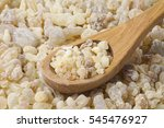 Frankincense  In A Wooden Spoon